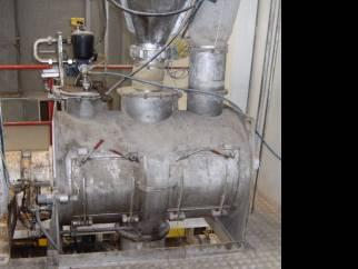 Morton 600 litre ploughshare mixer