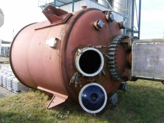 13640 litre Glass lined reactor
