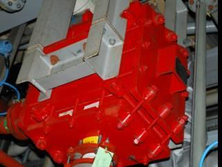 8.1 sq.m Ralph Coidan (Le Carbonne) Carbon Block Heat Exchanger.