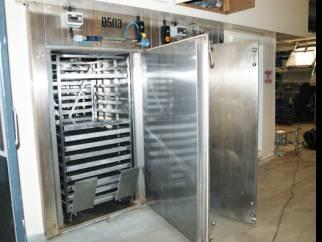 20 sq.m Lytzen SS Hot air tray dryer