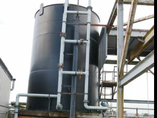 40000 litre vertical polypropylene tank