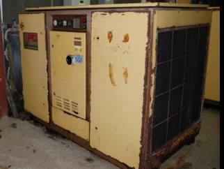 HPC Plusair Type CS 75 screw compressor