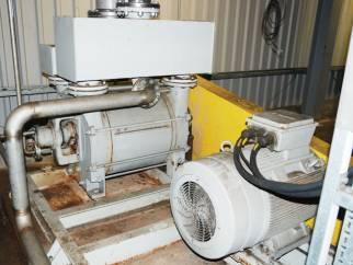 Siemens ELMO-F Type 2BE1 Closed Circuit Liquid Ring Vacuum Pump