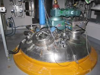 Bolz conical screw vacuum dryer