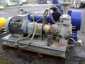 Used KSB Model CPKN-CHS 050-160   Centrifugal pump