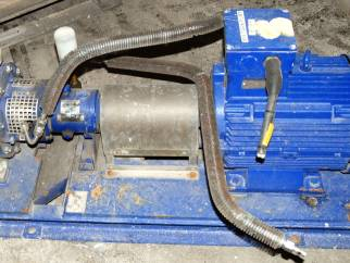 Used KSB Model CPKN-C1 050-200  Stainless steel centrifugal pump