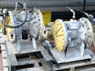 Used Sandpiper-Warren RUPP Type ST40 SGV-4-SS stainless steel double diaphragm pump