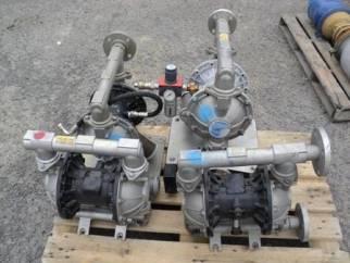 Used Verdair Type VA40 Aluminium diapragm pump
