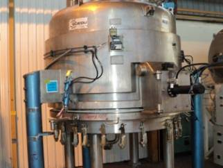 Used 3.14 m² Guedu Type ML-3000 stainless steel 316L pressure Nutsche filter dryer