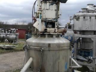 Newell Dunford approx 1sqmt hastelloy C22 pressure nutsche filter dryer.