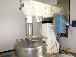 Used Mastermix 1200 Litre 316L stainless steel High Shear Turbine Vertical Mixing Vessel