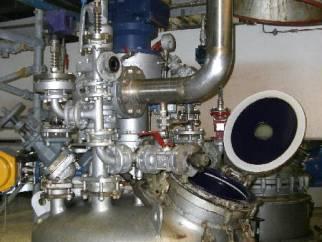 Used Pfaudler Type BE800 glassed steel reactor