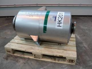 Used Alfa Laval approximately 8 sq.m stainless steel spiral heat exchanger