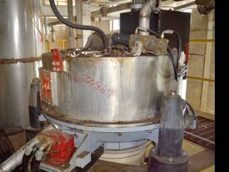 "Used Broadbent 48"" dia x 16"" deep T46A Pressure Tight Centrifuge."