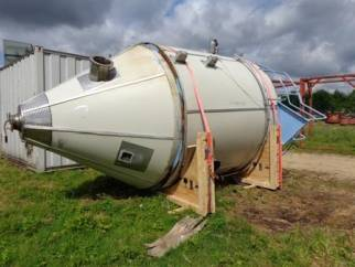 Used Niro Model S-25-R stainless steel spray dryer