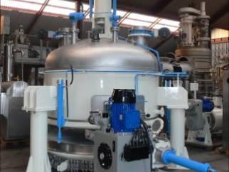 Used 4.5 sq.m Comber Nutsche pressure filter dryer