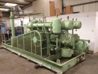 Used ABC Model 4HA-4-B1S-LT 4 stage high volume air compressor with capacity of 480 cu.m/hr at 42 bar pressure