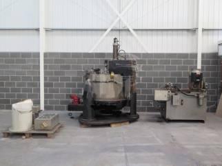 Used Broadbent Type 46A Bottom Discharge Basket Centrifuge