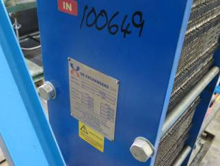 Used approx 25 sq.m stainless steel plate heat exchanger