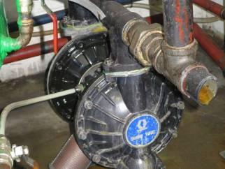 Used Graco Husky 1509 38mm aluminium air driven diaphragm pump