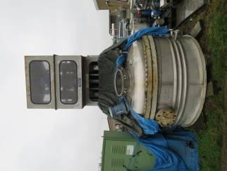 3 sq.m Rosenmund pressure filter dryer with centre bottom discharge. Model type RND 3-326-84