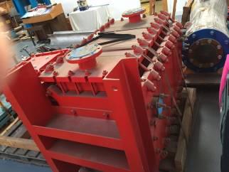 Refurbisher Coidan 19.8 sq.m Hykarb cubic block heat exchanger