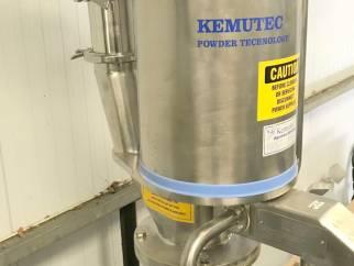 Used KEK CM120 Cone mill in stainless steel
