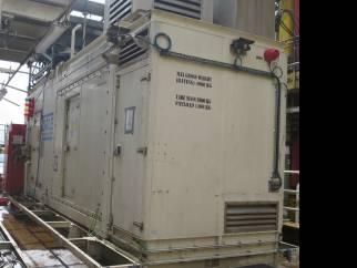 Used 2349 KVA containerised diesel generators